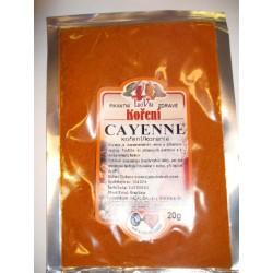 Cayanské korenie